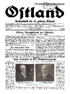 Ostland : Wochenschrift für die gesamte Ostmark, Jg. 10, 1929, Nr 24.