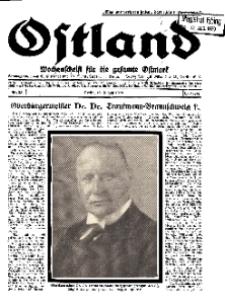 Ostland : Wochenschrift für die gesamte Ostmark, Jg. 10, 1929, Nr 33.