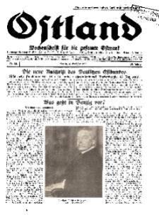 Ostland : Wochenschrift für die gesamte Ostmark, Jg. 10, 1929, Nr 40.