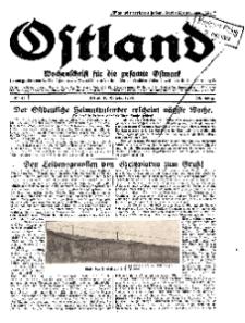 Ostland : Wochenschrift für die gesamte Ostmark, Jg. 10, 1929, Nr 42.