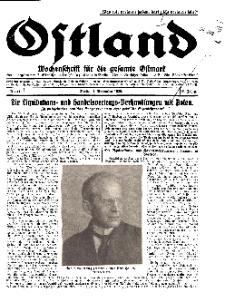 Ostland : Wochenschrift für die gesamte Ostmark, Jg. 10, 1929, Nr 44.