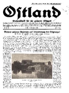 Ostland : Wochenschrift für die gesamte Ostmark, Jg. 10, 1929, Nr 45.