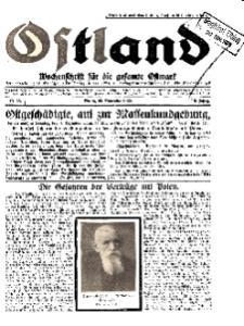 Ostland : Wochenschrift für die gesamte Ostmark, Jg. 10, 1929, Nr 48.