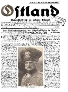 Ostland : Wochenschrift für die gesamte Ostmark, Jg. 10, 1929, Nr 49.