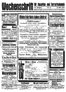Wochenschrift für Aquarien und Terrarienkunde, 22. Jg. 1925, Nr. 13.