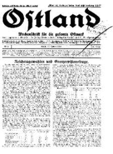 Ostland : Wochenschrift für die gesamte Ostmark, Jg. 13, 1932, Nr 4.