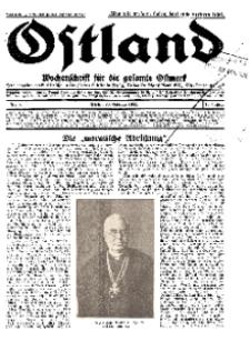 Ostland : Wochenschrift für die gesamte Ostmark, Jg. 13, 1932, Nr 9.