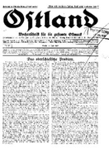 Ostland : Wochenschrift für die gesamte Ostmark, Jg. 13, 1932, Nr 27.