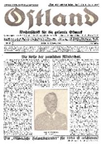 Ostland : Wochenschrift für die gesamte Ostmark, Jg. 13, 1932, Nr 42.