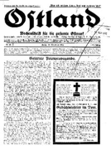 Ostland : Wochenschrift für die gesamte Ostmark, Jg. 13, 1932, Nr 46.