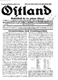 Ostland : Wochenschrift für die gesamte Ostmark, Jg. 13, 1932, Nr 48.