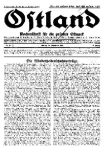 Ostland : Wochenschrift für die gesamte Ostmark, Jg. 13, 1932, Nr 51.