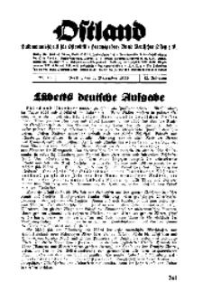 Ostland : Halbmonatsschrift für Ostpolitik, Jg. 17, 1936, Nr 23.