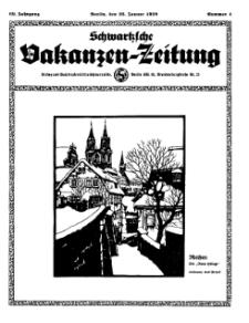 Schwartzsche Vokanzen-Zeitung, Jg. 69, 1939, Nr 4