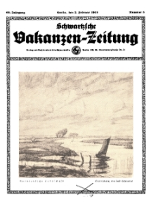 Schwartzsche Vokanzen-Zeitung, Jg. 69, 1939, Nr 5