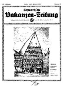 Schwartzsche Vokanzen-Zeitung, Jg. 69, 1939, Nr 6