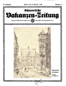 Schwartzsche Vokanzen-Zeitung, Jg. 69, 1939, Nr 7