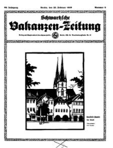 Schwartzsche Vokanzen-Zeitung, Jg. 69, 1939, Nr 8