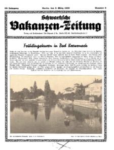 Schwartzsche Vokanzen-Zeitung, Jg. 69, 1939, Nr 9