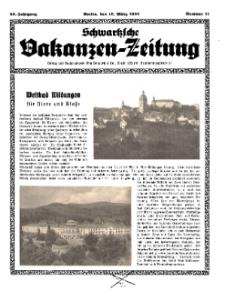 Schwartzsche Vokanzen-Zeitung, Jg. 69, 1939, Nr 11
