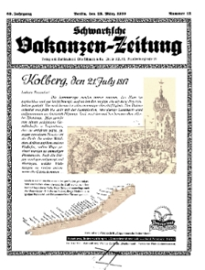 Schwartzsche Vokanzen-Zeitung, Jg. 69, 1939, Nr 12