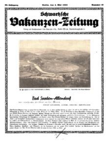 Schwartzsche Vokanzen-Zeitung, Jg. 69, 1939, Nr 18