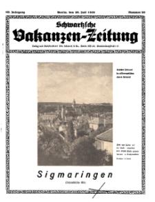 Schwartzsche Vokanzen-Zeitung, Jg. 69, 1939, Nr 29