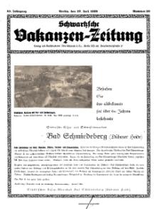 Schwartzsche Vokanzen-Zeitung, Jg. 69, 1939, Nr 30