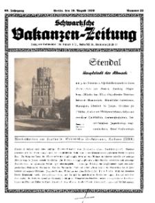 Schwartzsche Vokanzen-Zeitung, Jg. 69, 1939, Nr 32