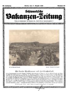 Schwartzsche Vokanzen-Zeitung, Jg. 69, 1939, Nr 33