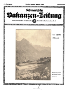 Schwartzsche Vokanzen-Zeitung, Jg. 69, 1939, Nr 34
