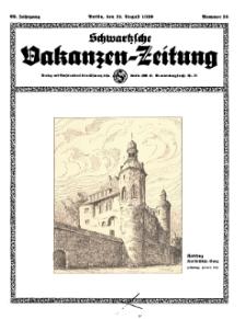 Schwartzsche Vokanzen-Zeitung, Jg. 69, 1939, Nr 35