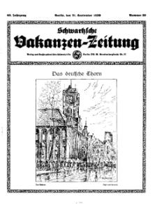 Schwartzsche Vokanzen-Zeitung, Jg. 69, 1939, Nr 38