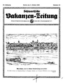 Schwartzsche Vokanzen-Zeitung, Jg. 69, 1939, Nr 40
