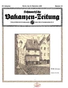 Schwartzsche Vokanzen-Zeitung, Jg. 69, 1939, Nr 46