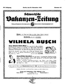 Schwartzsche Vokanzen-Zeitung, Jg. 69, 1939, Nr 48
