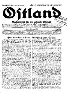 Ostland : Wochenschrift für die gesamte Ostmark, Jg. 14, 1933, Nr 2.