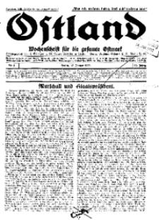 Ostland : Wochenschrift für die gesamte Ostmark, Jg. 14, 1933, Nr 3.