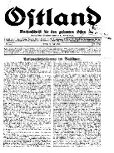 Ostland : Wochenschrift für die gesamte Ostmark, Jg. 14, 1933, Nr 30.