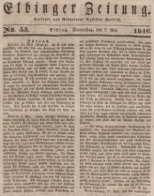 Elbinger Zeitung, No. 55 Donnerstag, 7. Mai 1846