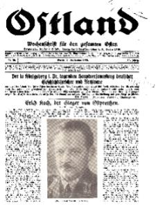 Ostland : Wochenschrift für die gesamte Ostmark, Jg. 14, 1933, Nr 36.