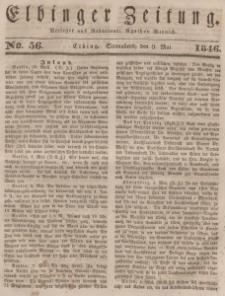 Elbinger Zeitung, No. 56 Sonnabend, 9. Mai 1846