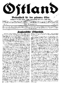Ostland : Wochenschrift für die gesamte Ostmark, Jg. 14, 1933, Nr 52.