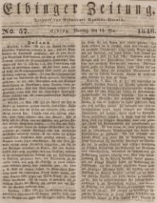 Elbinger Zeitung, No. 57 Montag, 11. Mai 1846