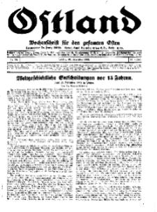 Ostland : Wochenschrift für die gesamte Ostmark, Jg. 14, 1933, Nr 53.