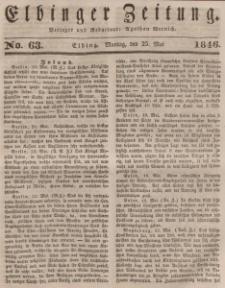 Elbinger Zeitung, No. 62 Sonnabend, 23. Mai 1846