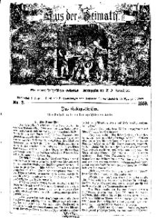 Aus der Heimath. Ein naturwissenschaftliches Volksblatt, 1859, No. 2.