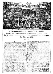 Aus der Heimath. Ein naturwissenschaftliches Volksblatt, 1859, No. 8.