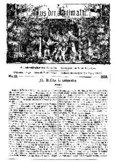 Aus der Heimath. Ein naturwissenschaftliches Volksblatt, 1859, No. 12.
