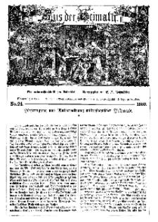 Aus der Heimath. Ein naturwissenschaftliches Volksblatt, 1859, No. 24.